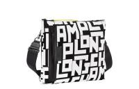 Le Pliage LGP Pochette multiporté - Noir/Blanc Soldes