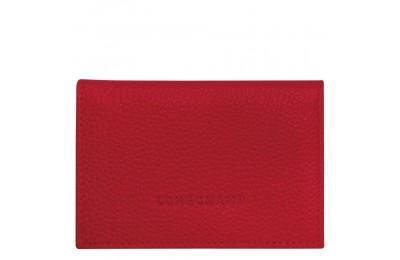Le Foulonné Porte-cartes - Rouge Soldes