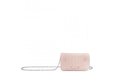 Amazone Pochette chainette - Rose Pâle Soldes