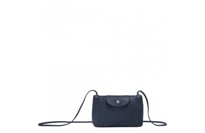 [Vente] - Le Pliage Cuir Sac porté travers - Navy