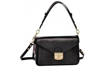 [Soldes] - Mademoiselle Longchamp Sac porté épaule - Noir