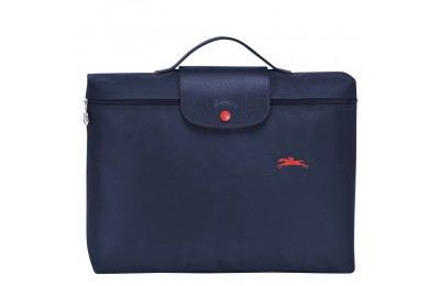 Le Pliage Club Porte-documents - Navy Pas Cher