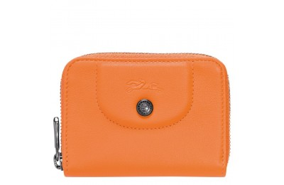 [Soldes] - Le Pliage Cuir Porte-cartes - Orange