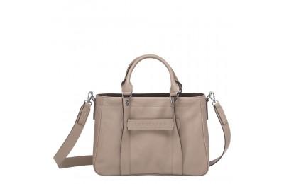[Vente] - Longchamp 3D Sac porté main - Vison