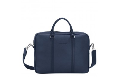 [Soldes] - Le Foulonné Porte-documents XS - Navy