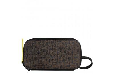 Le Pliage LGP Travel companion - Noir/Kaki Pas Cher