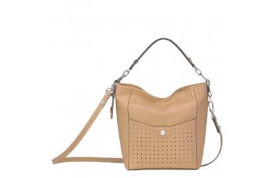 [Vente] - Mademoiselle Longchamp Petit sac seau - Beige