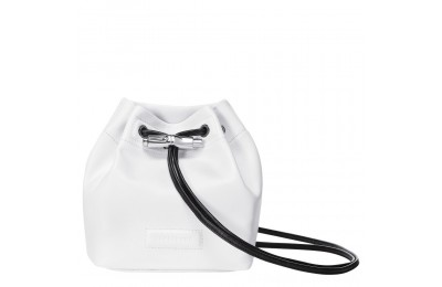 Roseau Mini sac seau - Blanc Soldes