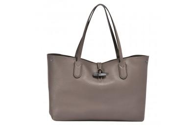 Roseau Sac shopping M - Gris Soldes