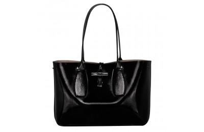 [Soldes] - Roseau Sac shopping - Noir