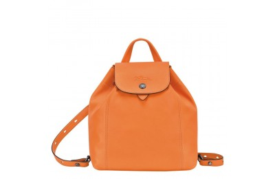[Vente] - Le Pliage Cuir Sac à dos - Orange