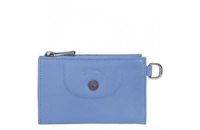 Le Pliage Cuir Etui clés - Bleu Pas Cher
