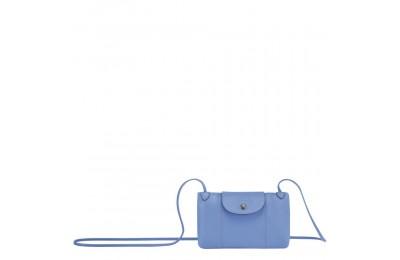 [Vente] - Le Pliage Cuir Sac porté travers - Bleu