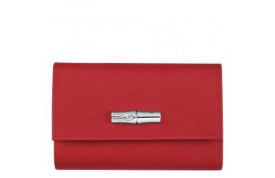 [Vente] - Roseau Portefeuille compact - Rouge