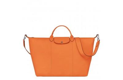 [Soldes] - Le Pliage Cuir Sac de voyage - Orange