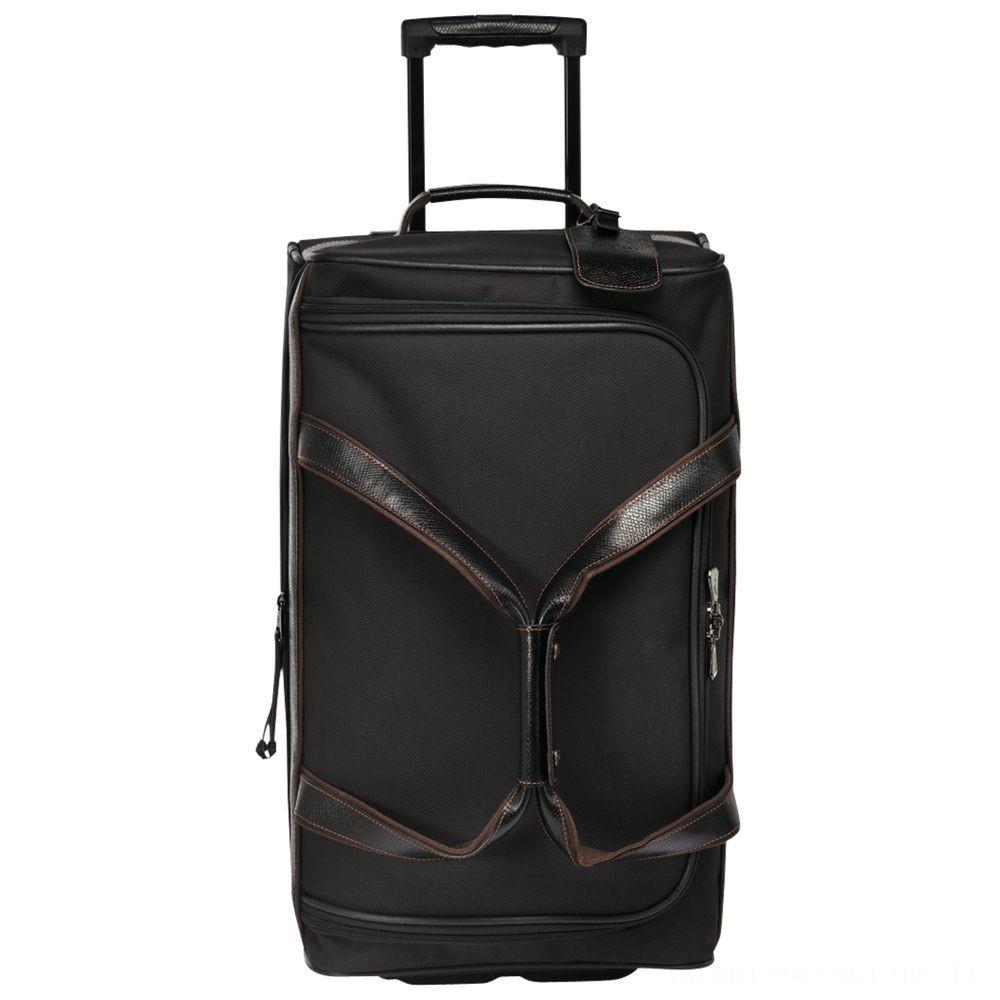 [Vente] - Boxford Sac de voyage à roulettes S - Noir