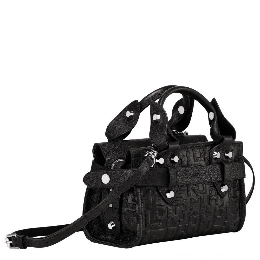 La Voyageuse Longchamp Petit cabas - Noir Soldes