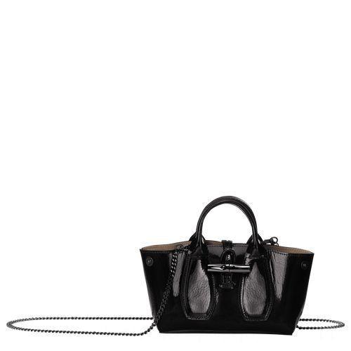 Roseau Sac shopping L - Noir Pas Cher
