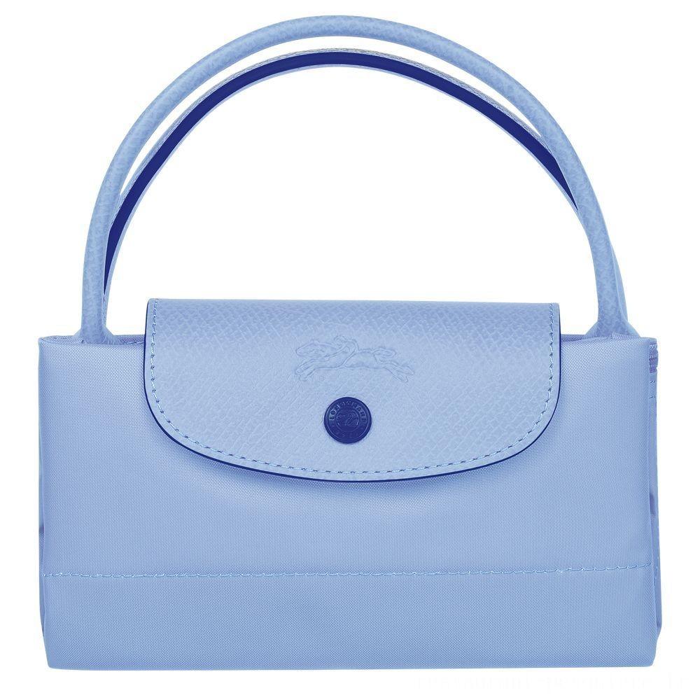 Le Pliage Club Sac porté main - Bleu Soldes