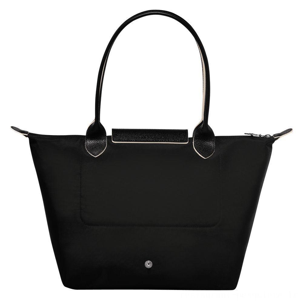 [Vente] - Le Pliage Club Sac porté épaule - Noir