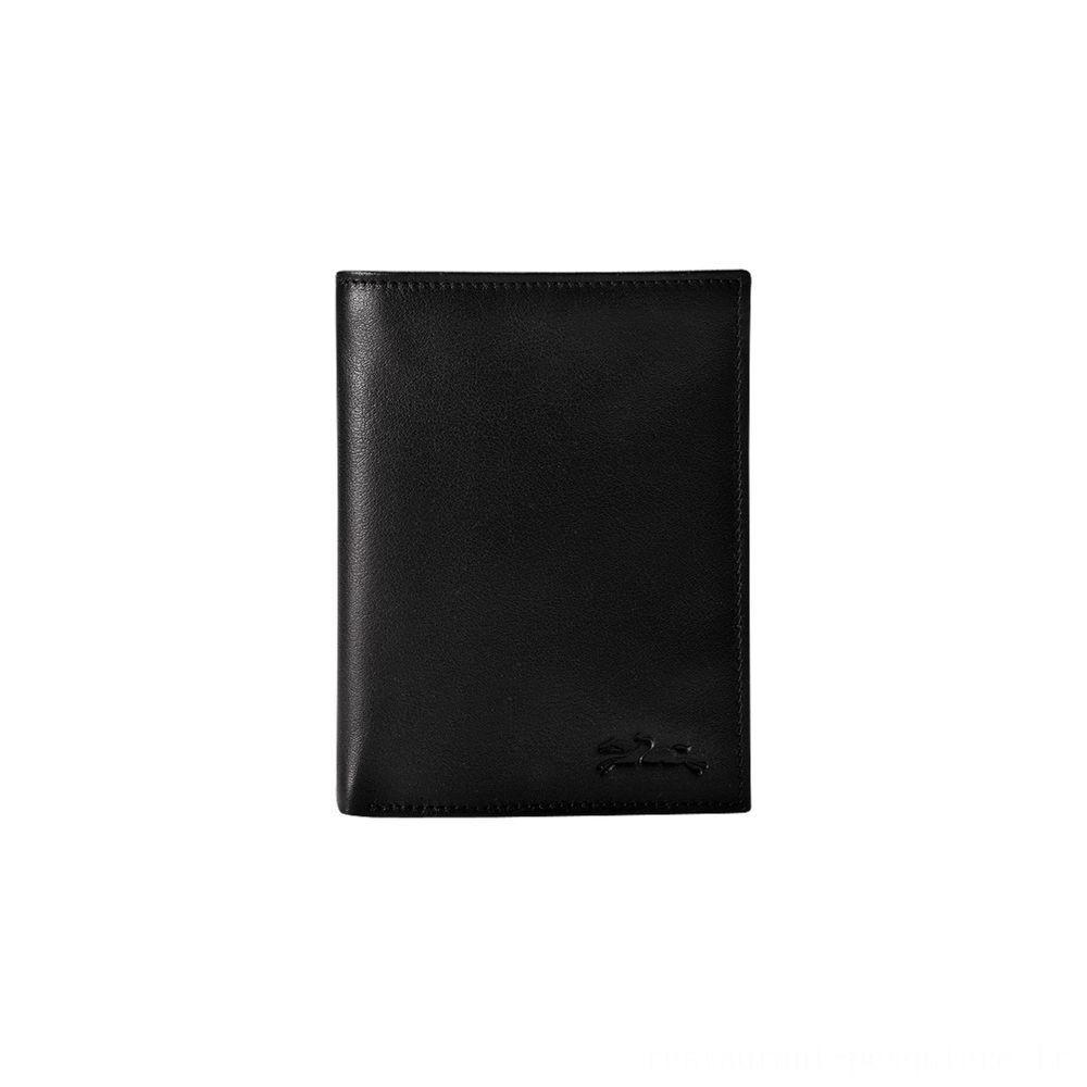 [Soldes] - Baxi Portefeuille - Noir