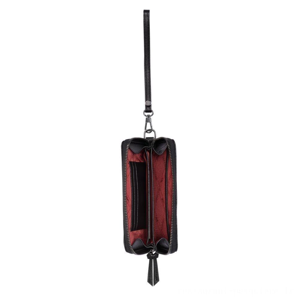 Amazone Portefeuille compact - Noir Pas Cher