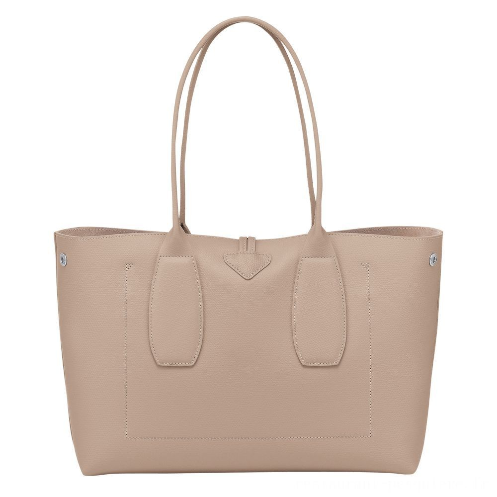 Roseau Sac shopping - Sable Soldes