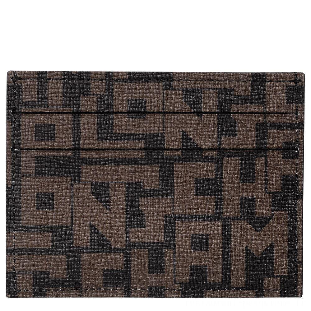[Vente] - Le Pliage LGP Porte-cartes - Noir/Kaki