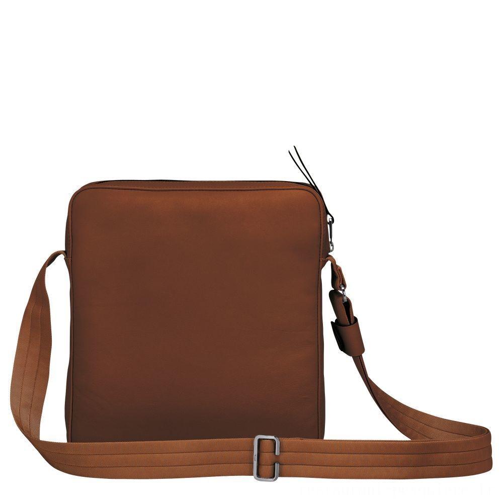[Vente] - Longchamp 3D Sac porté travers - Cognac