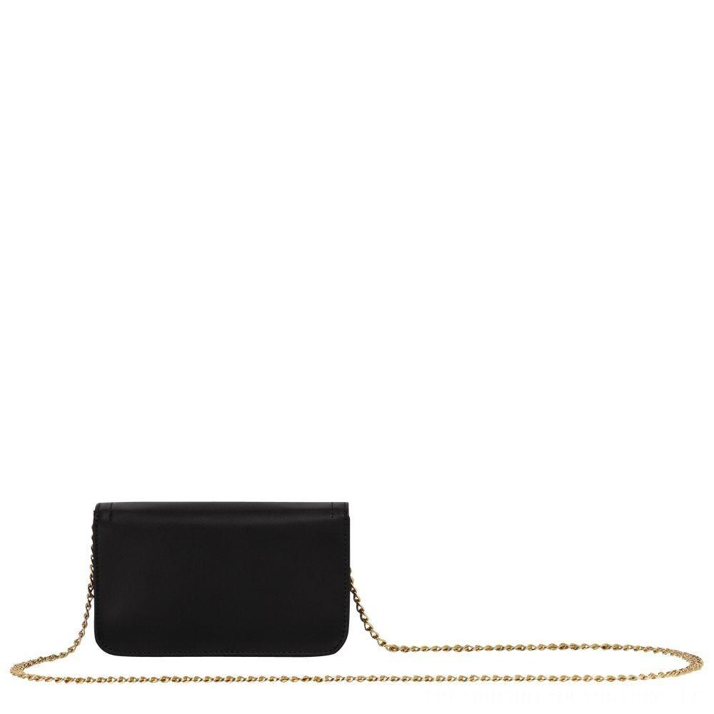 Cavalcade Pochette chainette - Noir Pas Cher