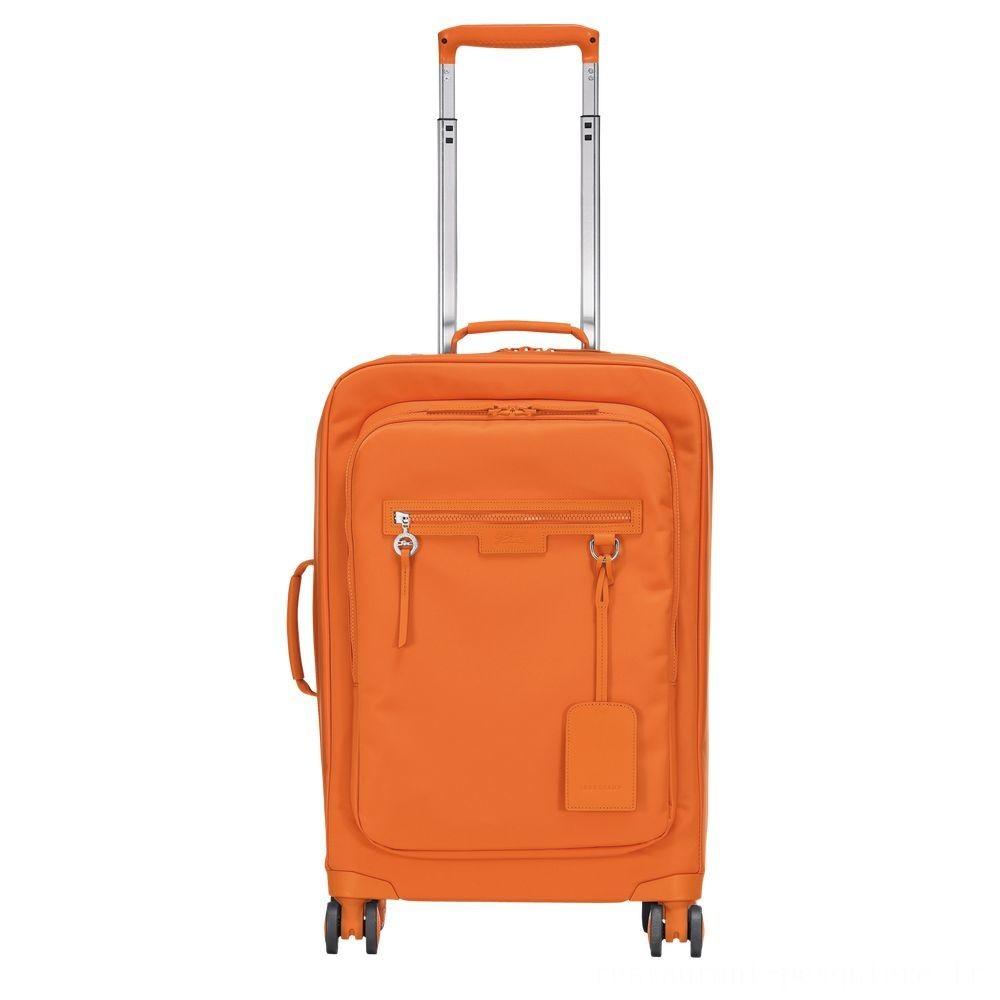 [Soldes] - Le Pliage Néo Valisette à roulettes - Orange