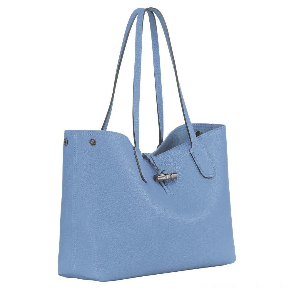 [Vente] - Roseau Sac shopping M - Bleu
