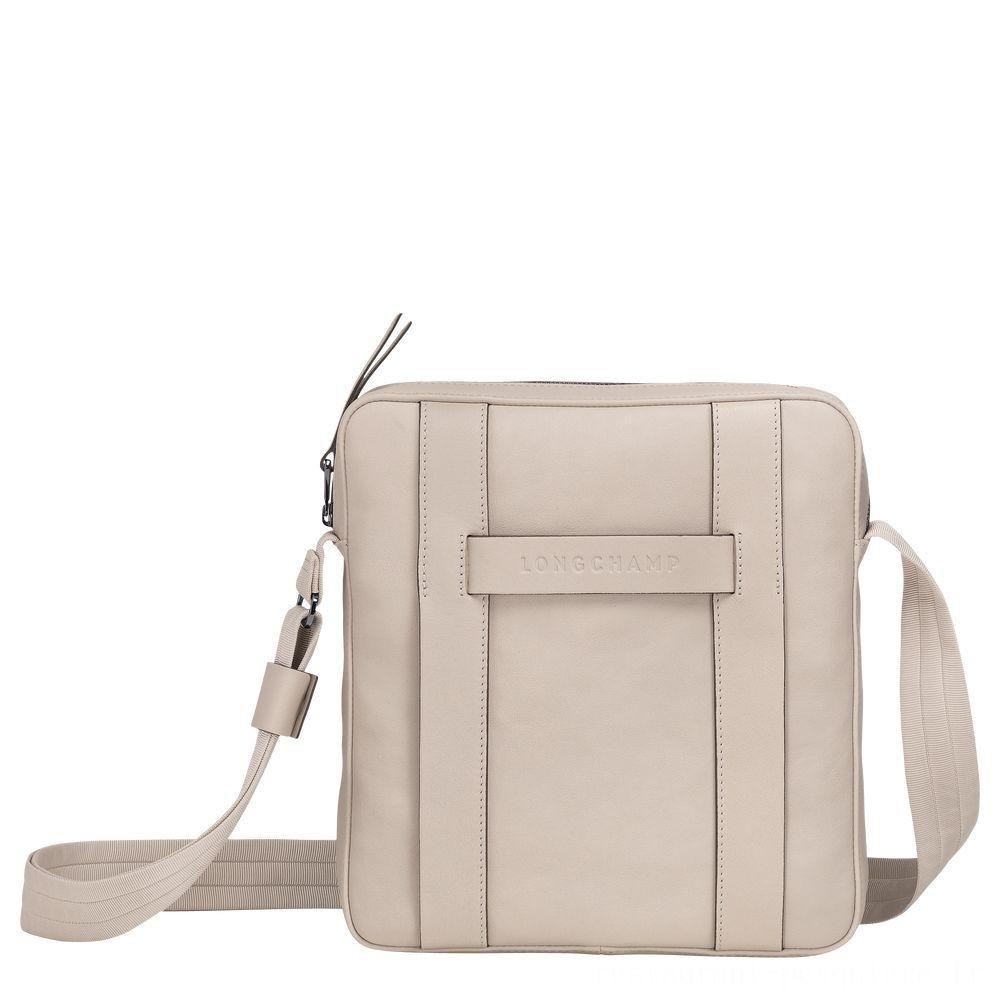 [Soldes] - Longchamp 3D Sac porté travers - Argile