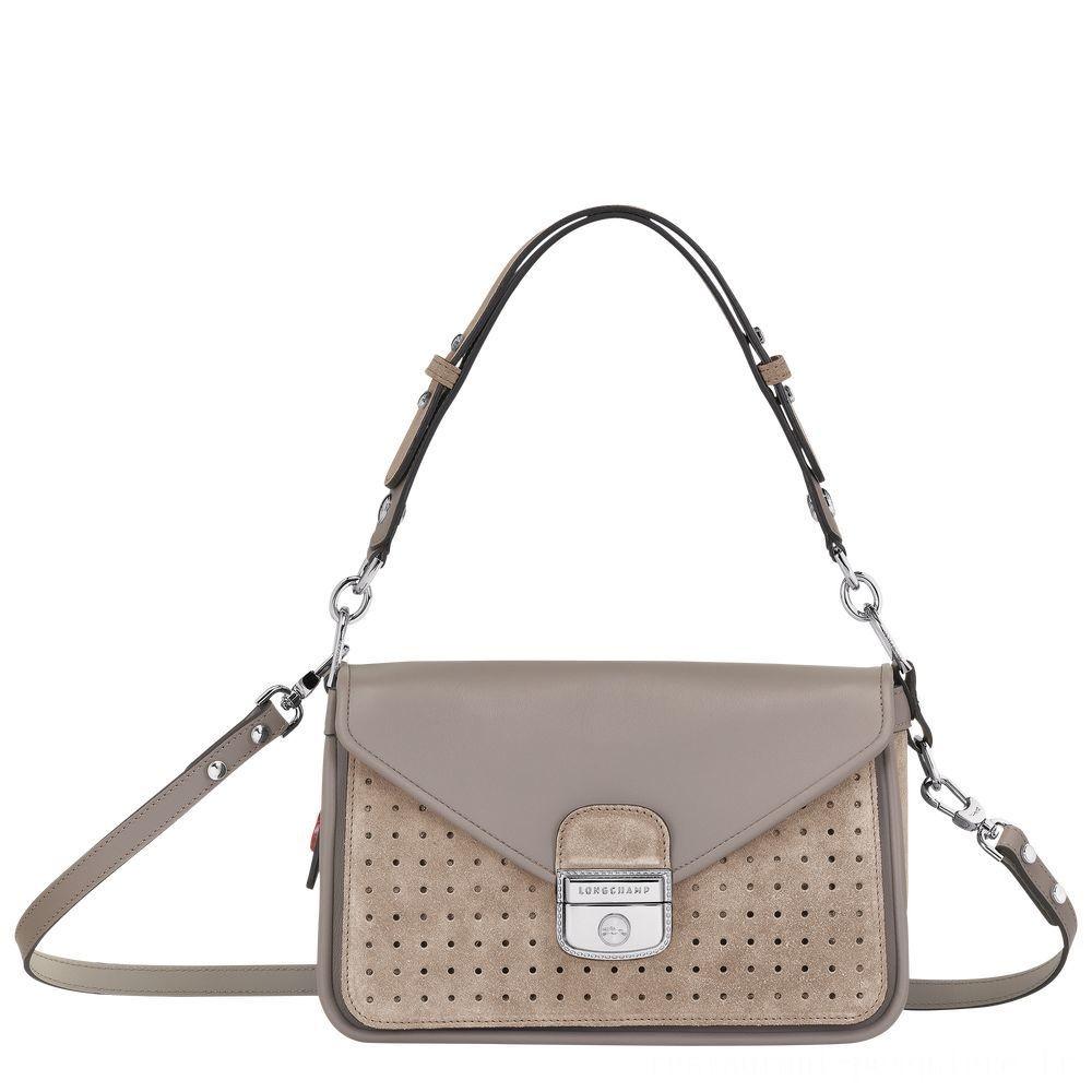 [Vente] - Mademoiselle Longchamp Sac porté épaule - Sable