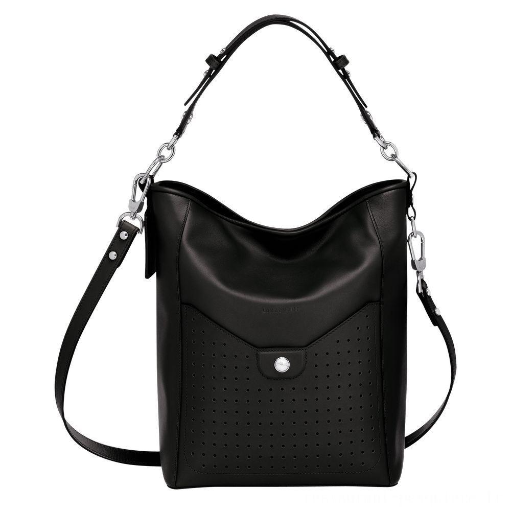 [Vente] - Mademoiselle Longchamp Besace - Noir