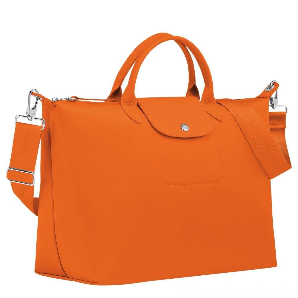 Le Pliage Néo Sac porté main - Orange Pas Cher