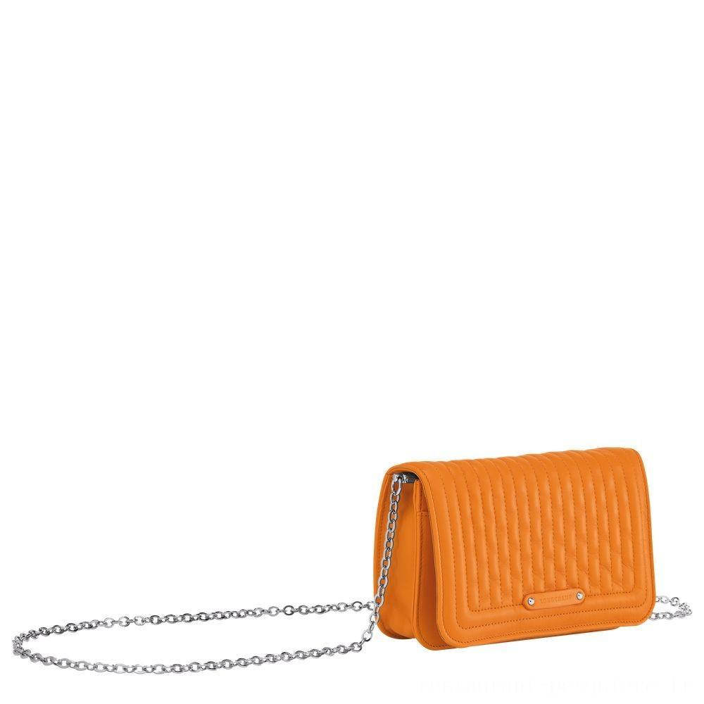 Amazone Pochette chainette - Orange Soldes