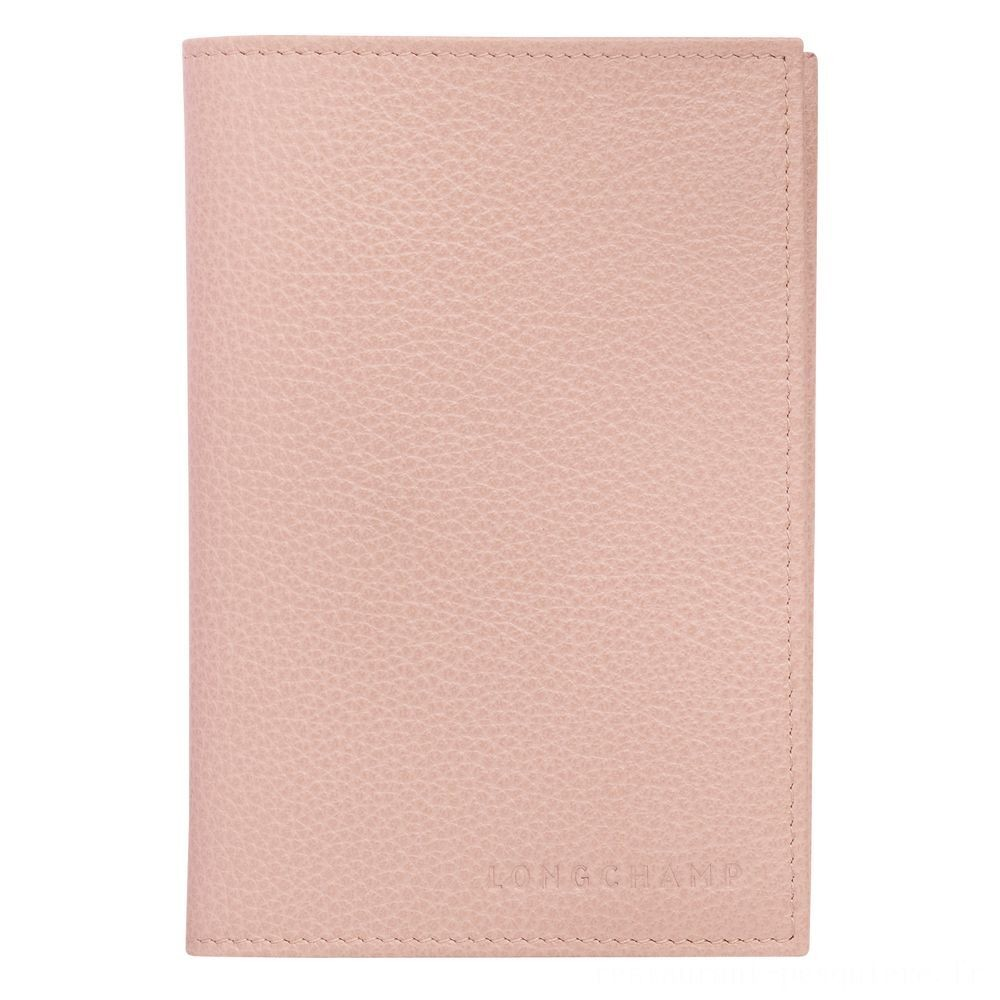 [Soldes] - Le Foulonné Étui passeport - Poudre