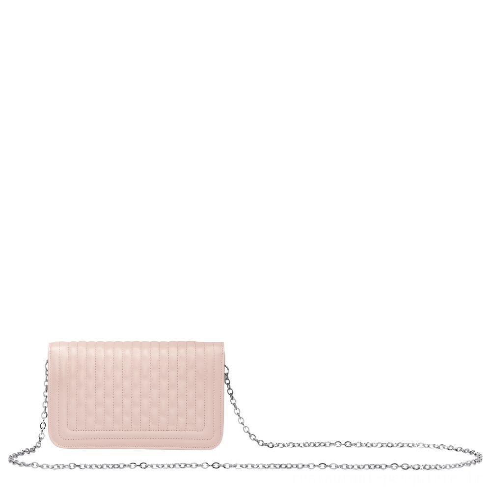 [Vente] - Amazone Pochette chainette - Rose Pâle