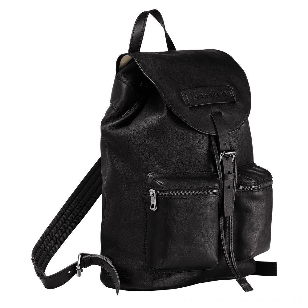 [Vente] - Longchamp 3D Sac à dos - Noir