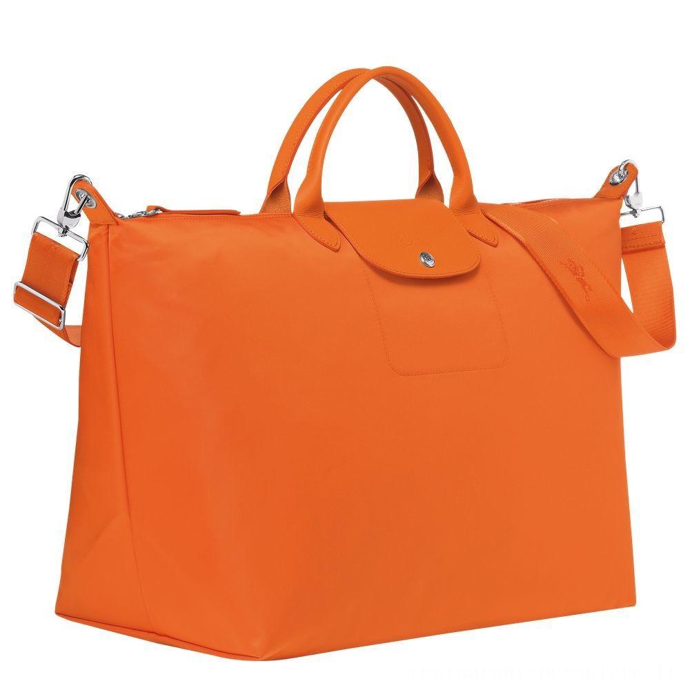 Le Pliage Néo Sac de voyage - Orange Soldes