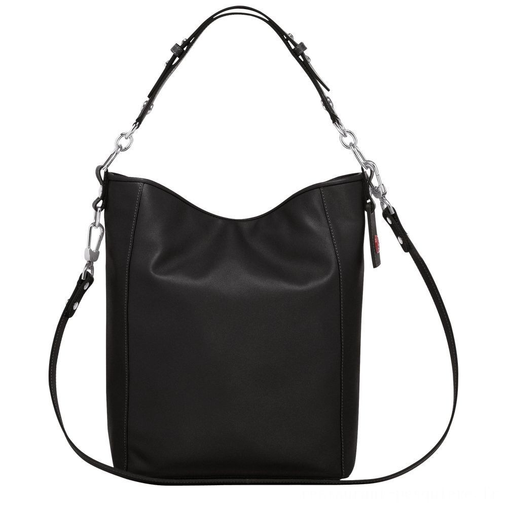 [Soldes] - Mademoiselle Longchamp Besace - Noir