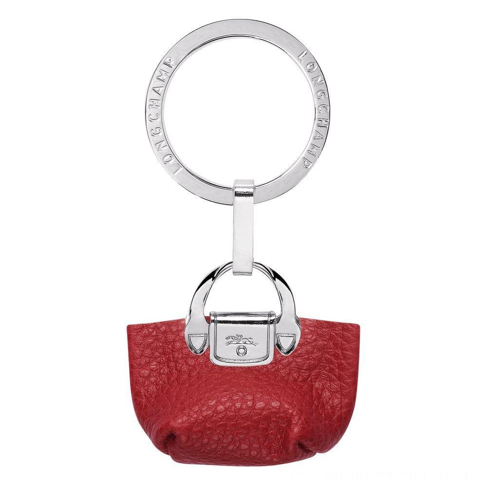 [Soldes] - Le Foulonné Porte-clés - Rouge