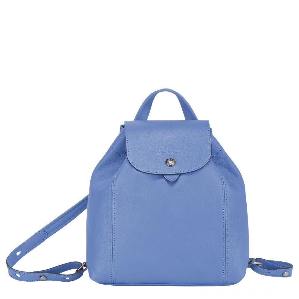 [Vente] - Le Pliage Cuir Sac à dos - Bleu