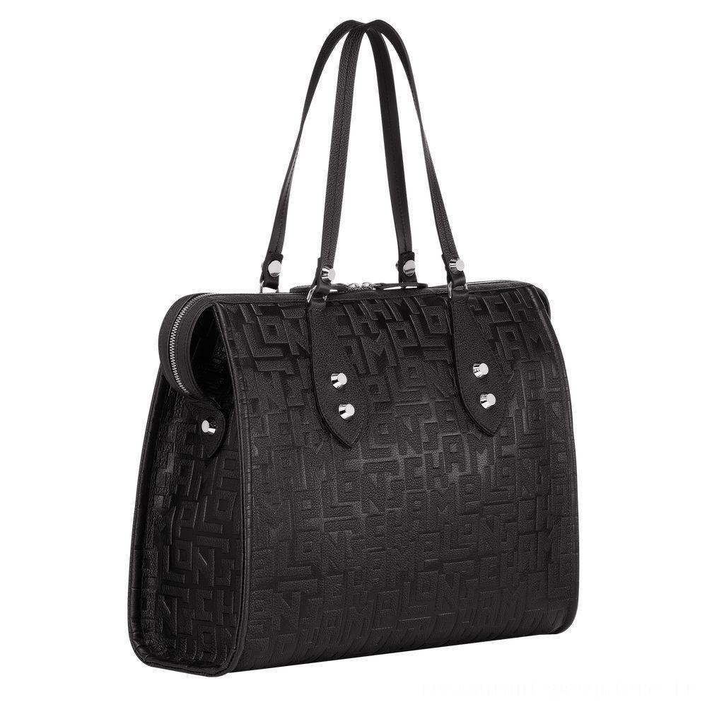 [Soldes] - La Voyageuse LGP Sac shopping - Noir
