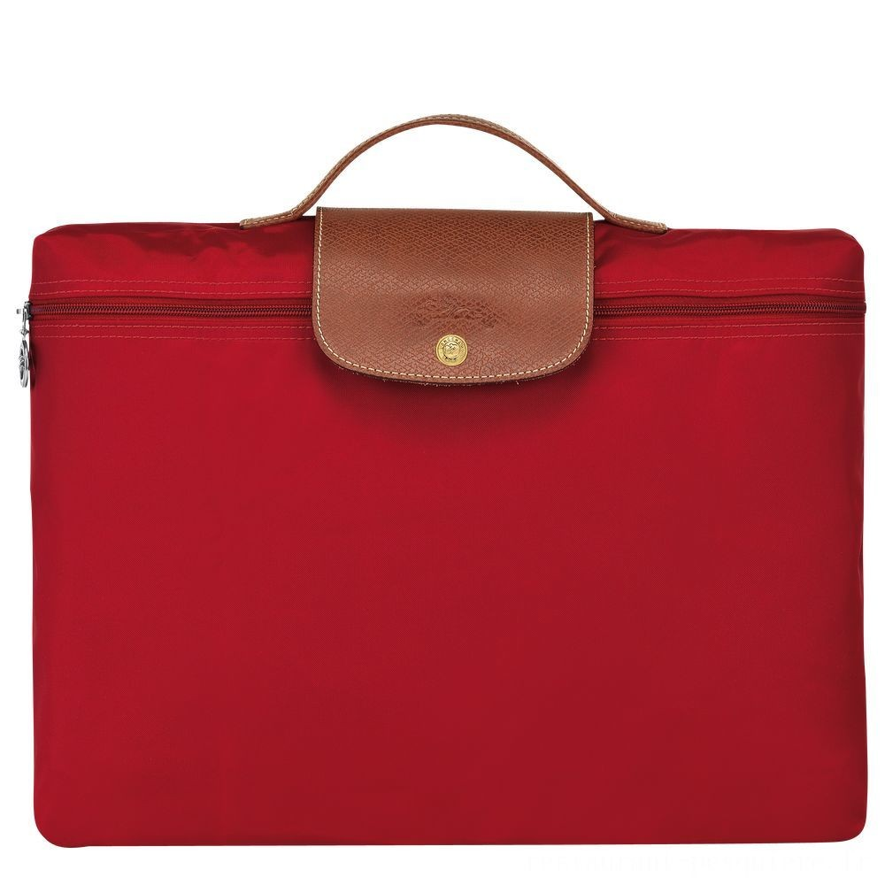 [Soldes] - Le Pliage Porte-documents - Rouge