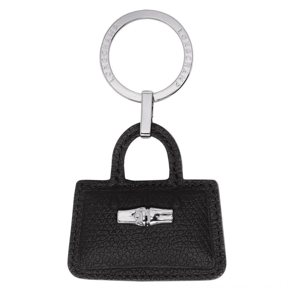 [Soldes] - Roseau Porte-clés - Noir