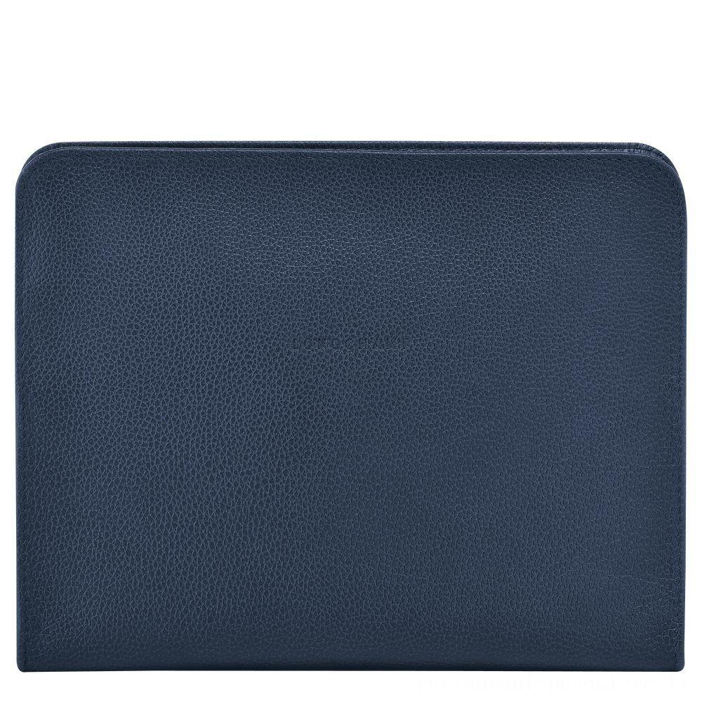 [Vente] - Le Foulonné Étui iPad® - Navy
