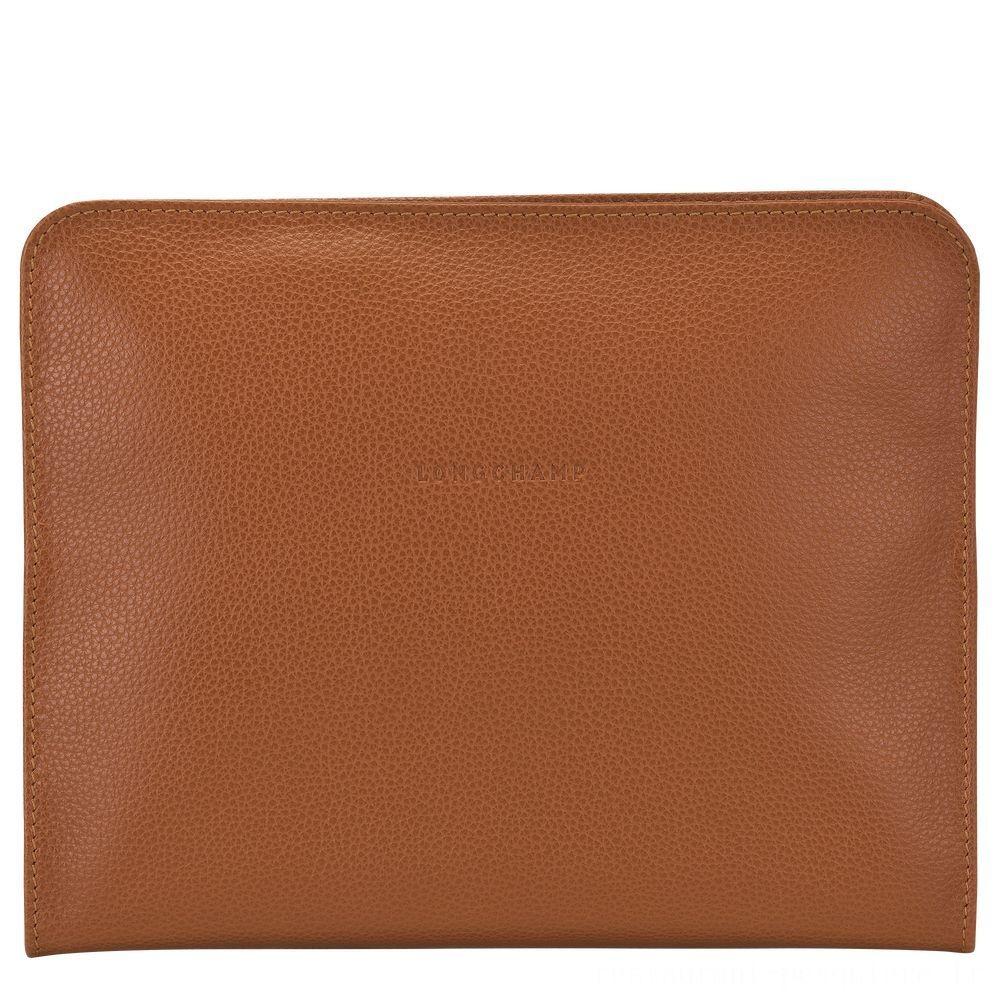 [Vente] - Le Foulonné Étui iPad® - Caramel