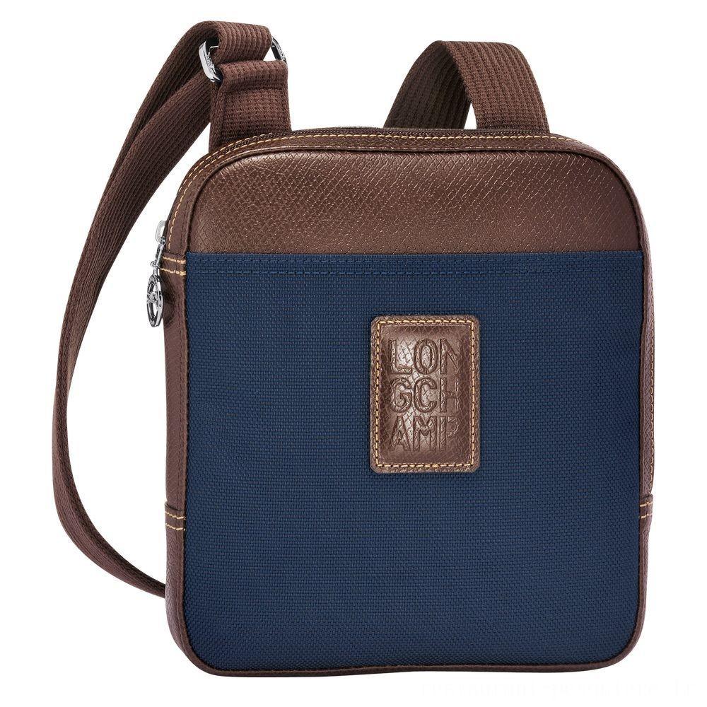 Boxford Sac porté travers - Bleu Pas Cher